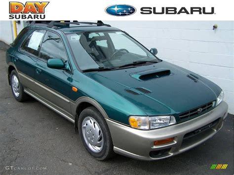 green subaru hatchback 2000 acadia green metallic subaru impreza outback sport