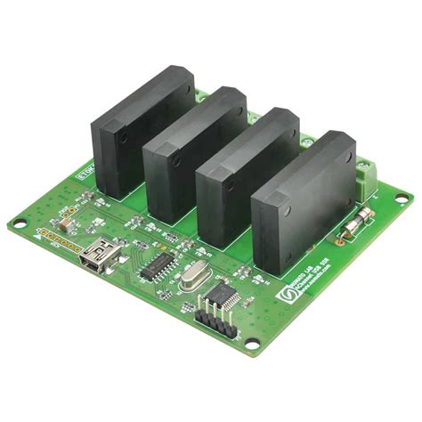 Solid State Relay Ssr Module 4 Channel 4 channel usb solid state relay module with gpio numato lab
