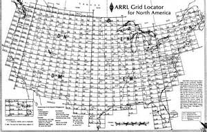 us map with grid grid square map amateurradio
