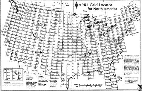 us maidenhead grid map us grid square map qrz forums