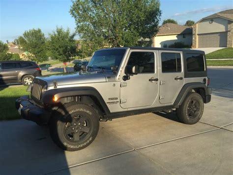 Jeeps For Sale In Nebraska 2015 Jeep Wrangler Unlimited Sport For Sale In Lincoln