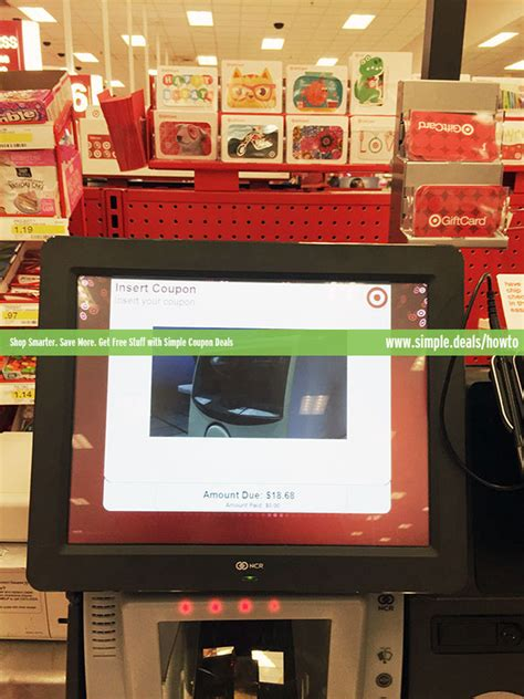 Gift Card Kiosk At Walgreens - how to use self checkout at target simple coupon deals