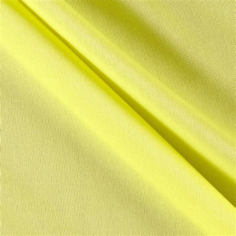 Bright Yellow Upholstery Fabric by 70 Denier Tricot Bright Yellow Discount Designer Fabric