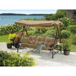 Patio Swing With Canopy Kroger Bjs Living Home Outdoors Convertible Swing Garden Winds