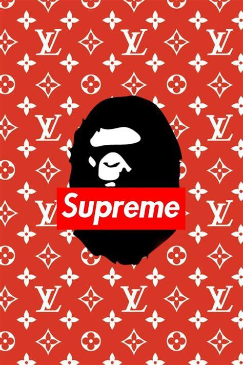 Supreme X Bape supreme louis vuitton bape