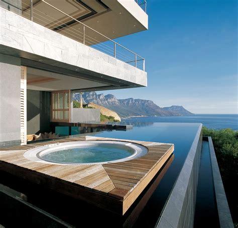 whirlpool im garten 229 schwimmbad schwimmteich modern hausbau beton sichtbeton