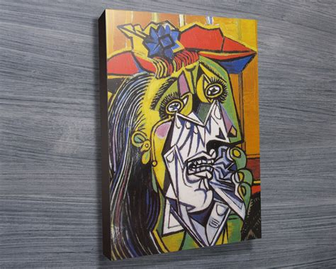 picasso paintings weeping weeping picasso canvas prints australia