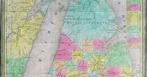 Michigan The 26th State by On January 26 1837 Michigan Was Admitted As The 26th