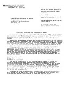 Certification Letter For Tin Number Ein Assignment Letter