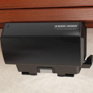 presto under cabinet electric can opener black decker co100b spacemaker under the cabinet black