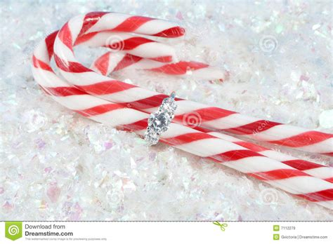 christmas engagement stock image image of jewelry