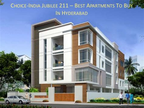 Appartments To Buy by Choice India Jubilee 211 Best Apartments To Buy In Hyderabad