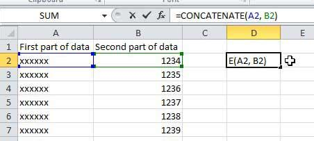 how to combine single and two column formats on the same how do i combine multiple columns into one column in excel