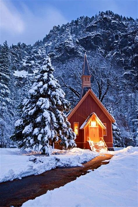 country church in winter winter pinterest church