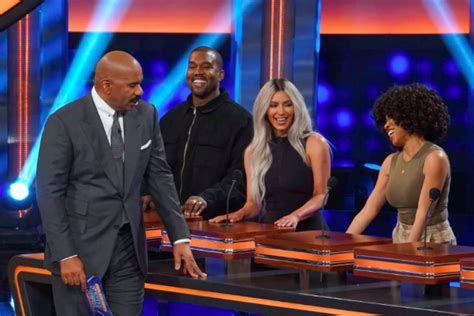 kim and kanye family feud full episode missinfo tv 187 watch kanye west on celebrity family feud