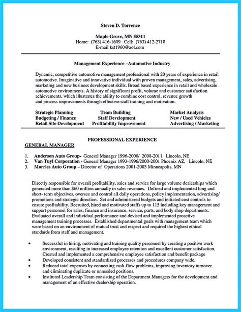 resume templates the most sles special car sales resume to get the most special