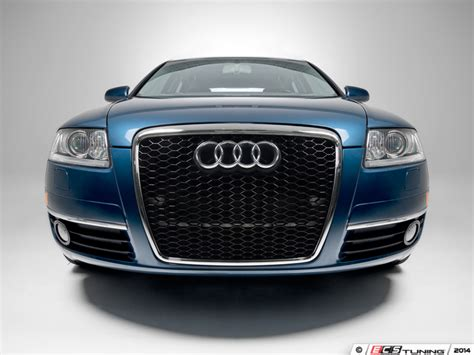 Audi A6 C6 Front Grill by Ecs News Audi C6 A6 Rs Style Mesh Grilles