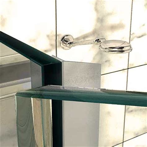 Shower Door Water Seal Pvc 135 Deg 600mm Length Shower Door Water Seal For 10mm Glass In Australia