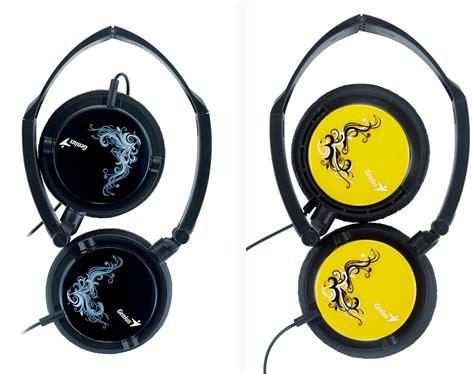 Genius 410f Headset Orange genius announces hs 410f foldable headband headsets techpowerup