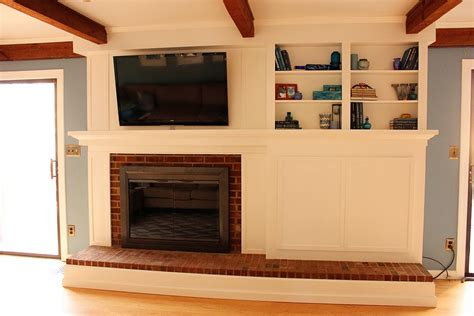 diy fireplace cover up do it yourself fireplace remodels