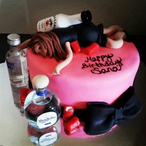 drunk girl cake  cakes   st birthday cake  girls birthday cake girls girl cakes
