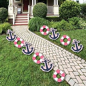 Ahoy Baby Shower Decorations by Ahoy Nautical Baby Shower Decorations Theme