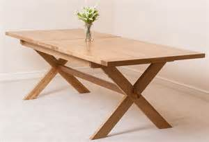 Extending Wooden Dining Table Vermont Solid Oak Wood Medium 200cm Extending Table Wooden Dining Room Furniture Ebay