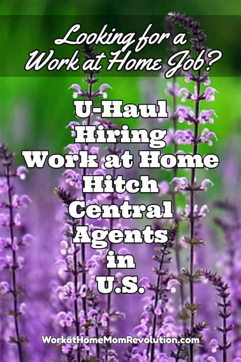 home based customer service with u haul work at