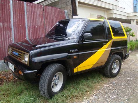 Ram Feroza rs cabs 1991 daihatsu feroza specs photos modification