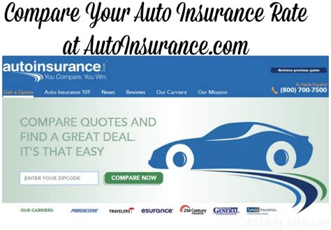 Compare Auto Insurance at AutoInsurance.com #Compare2Win #shop