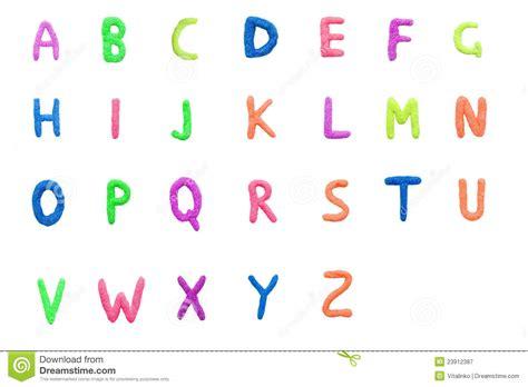 lettere inglese alfabeto inglese variopinto immagine stock immagine di