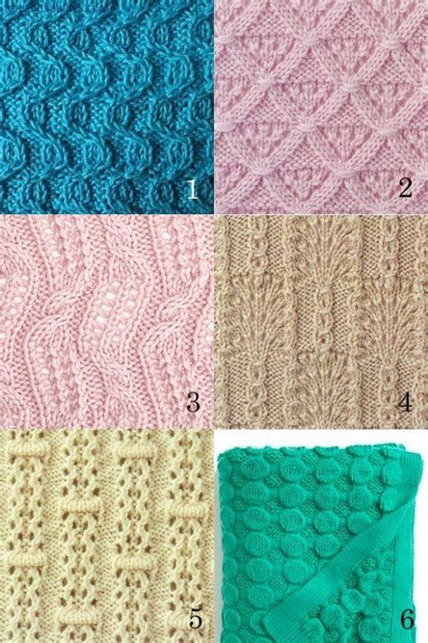 different knitting stitches knitting stitches patterns tricot