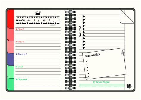 Calendrier Hebdomadaire à Imprimer Planning De Semaine Et Agenda 224 Imprimer Gratuitement