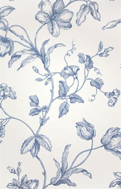 wallpaper toile blue french blue toile wallpaper collection 9 wallpapers