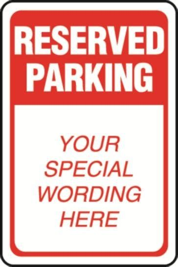 reserved parking template reserved parking sign template related keywords reserved