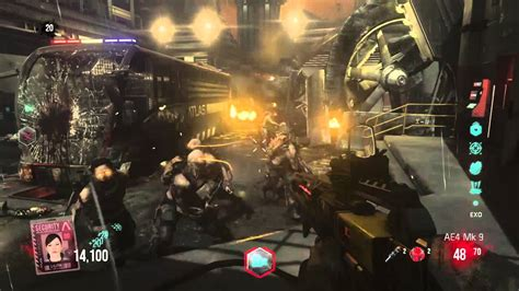 exo zombies gameplay call of duty 174 advanced warfare exo zombies gameplay