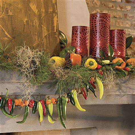 spiced up mantel cajun christmas decorating ideas