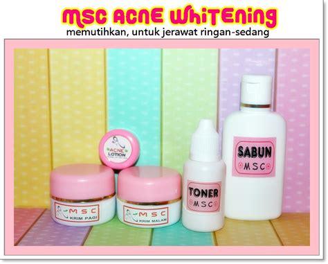 Pimple Dr Bpom Untuk Jerawat jual msc acne whitening mengatasi jerawat memutihkan krim artis dr annisa spkk dnd