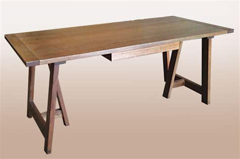 Trestle Desk by Messmate Hardwood Trestle Desk Lifestyle Furniture