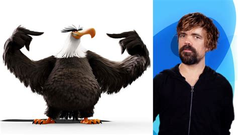 peter dinklage angry birds peter dinklage towers as the mighty eagle in the angry