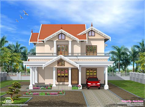 stunning front view  home design  india decor