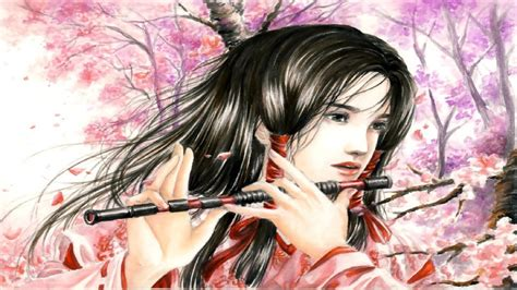 anime japanese music beautiful japanese music cherry blossoms youtube