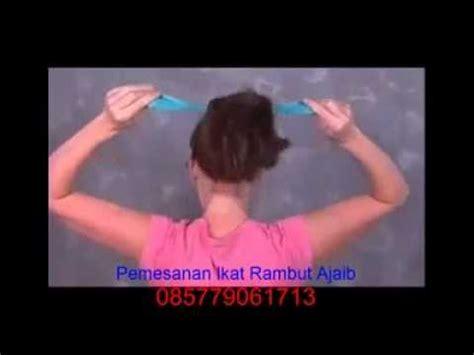 Ikat Rambut Donat 2 ikat rambut ajaib murah jakarta hanya butuh kurang dari 1 menit
