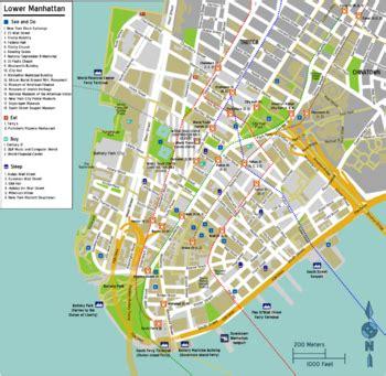 best map of manhattan manhattan lower manhattan wikitravel