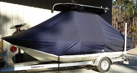 boat covers in charleston sc carolina skiff 174 198 dlv t top boat cover wmax 749