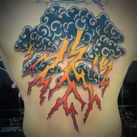 24 lightning tattoo designs ideas design trends