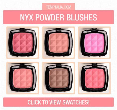 Nyx Powder Blush nyx powder blush swatches part 2
