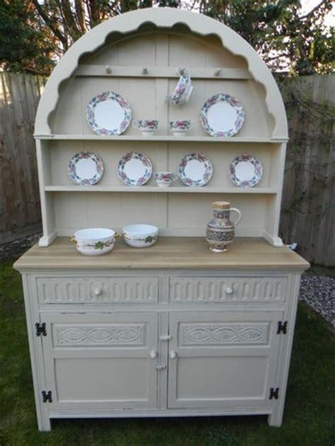 vintage painted welsh dresser vintage painted oak jaycee shabby chic dutch dresser c