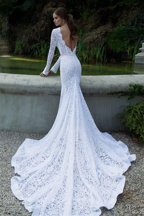 berta bridal winter 2014 long sleeve wedding dresses