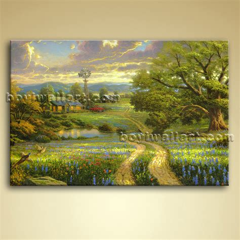 landscape canvas prints classical abstract landscape painting on canvas wall
